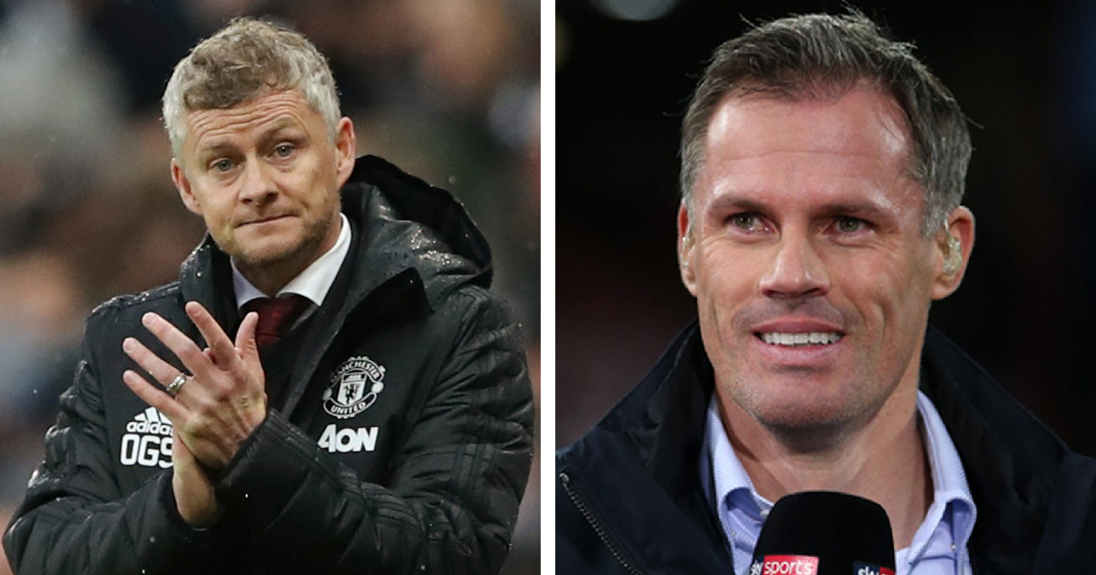 'I actually admire Solskjaer': Jamie Carragher lauds Ole for major decision in once-in-a-blue-moon moment