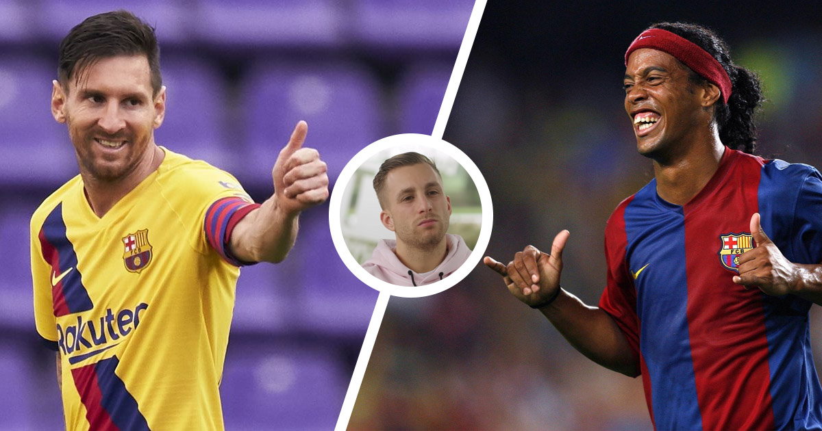 Gerard Deulofeu: 'Messi is incredible but for me, Ronaldinho is the best player in history'