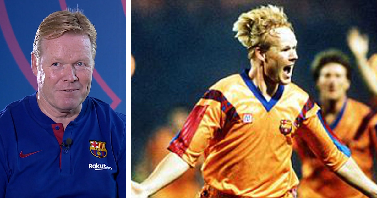 'Hero of the night' Koeman compares winning Champions League with Barca and PSV