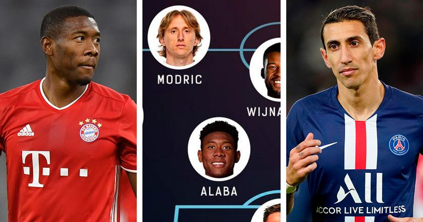 Alaba, Di Maria and more: Starting XI of best free agents in summer of 2021 - logo