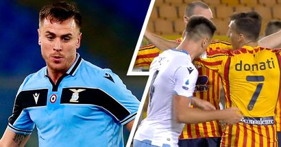 Lazio defender Patric banned for 4 games and fined €10,000 for biting
