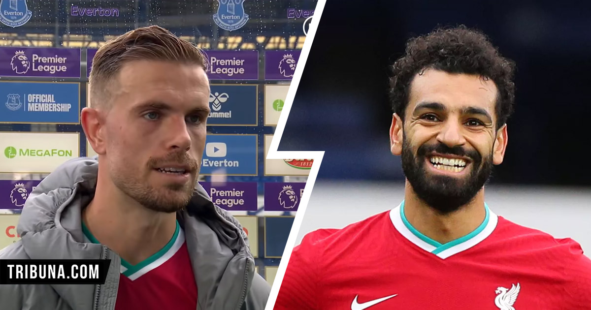 'Mo's numbers are computer game stuff!': Henderson talks Salah's 'jaw-dropping' Liverpool goal record