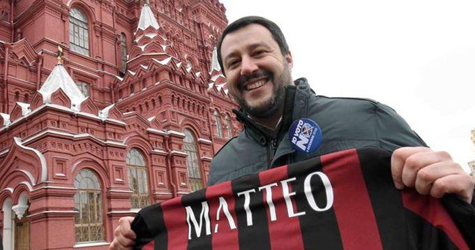 """Salvini sul Milan: """"C'è un progetto e un gioco, gli unici sorrisi di questo anno terribile"""" - logo"""