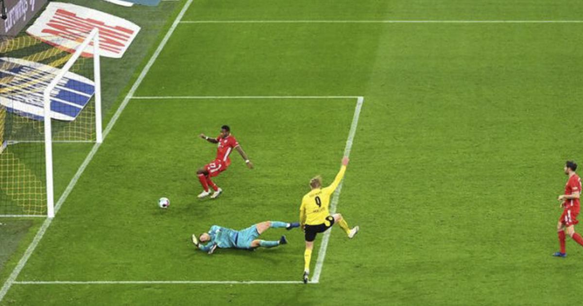 Manuel Neuer Haaland Hat Beim Tor Ein Bisschen Gluck Gehabt