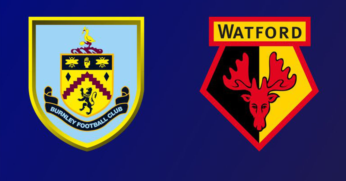 Burnley and Watford match broadcast live
