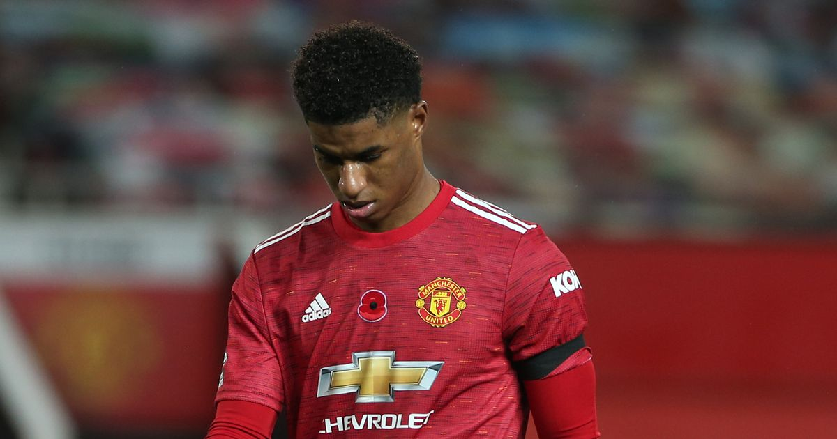 Marcus Rashford yet to score at Old Trafford in Premier League this season