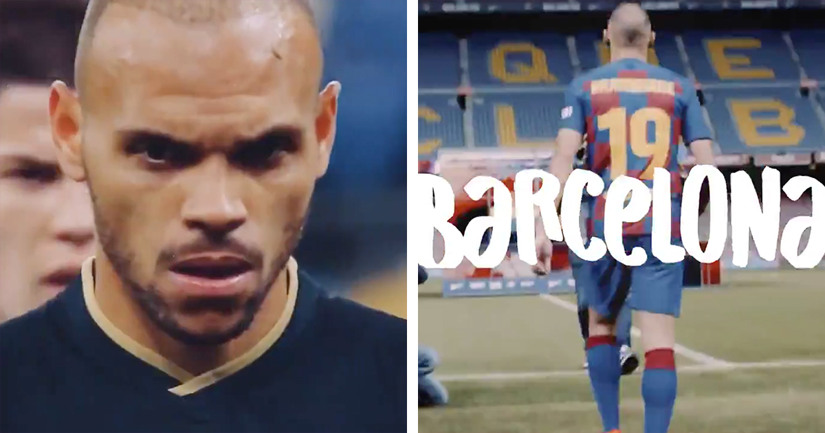 'Already one year at this amazing club': Martin Braithwaite uploads warm video about his Barca spell (video)