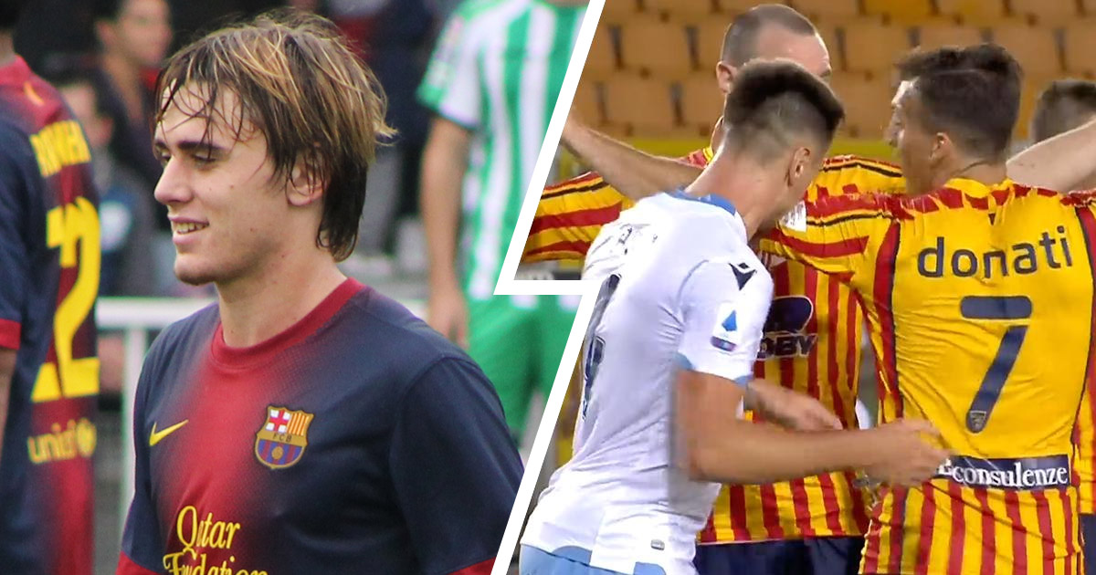 Ex-La Masia and current Lazio defender Patric banned for 4 games and fined €10,000 for biting