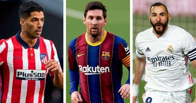 Осталось 4 игры: графики Ла Лиги, Барсы, Атлетико и Реал Мадрид - логотип