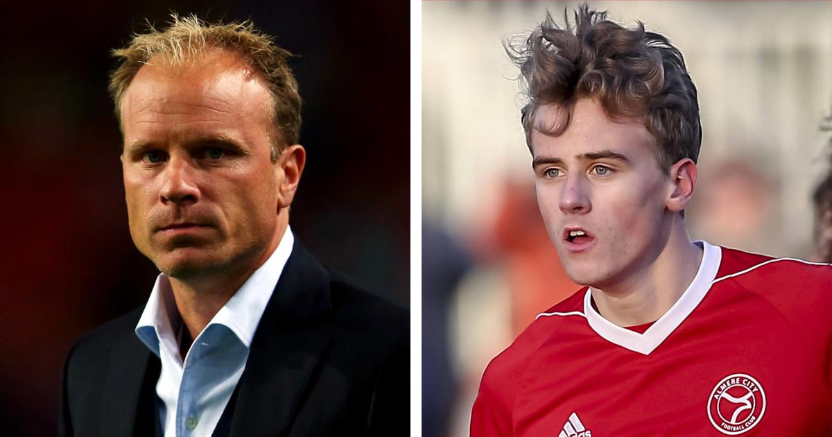 Arsenal take Dennis Bergkamp's son Mitchel on trial (reliability: 5 stars)