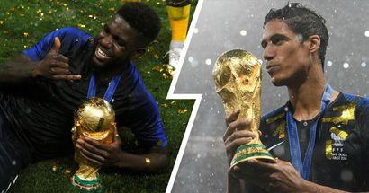 Umtiti-Varane: la zaga que dio un Mundial cae en desgracia dos años después