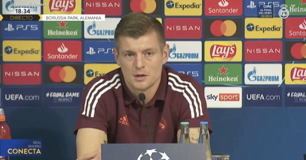 Kroos: 'Tomorrow is a final and we have to play better than Saturday to beat Borussia'