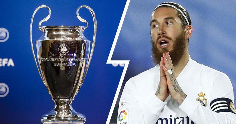 Derby de Madrid, matchs face à l'Atalanta et plus: 10 matchs que Sergio Ramos pourrait manquer à cause de sa blessure - logo