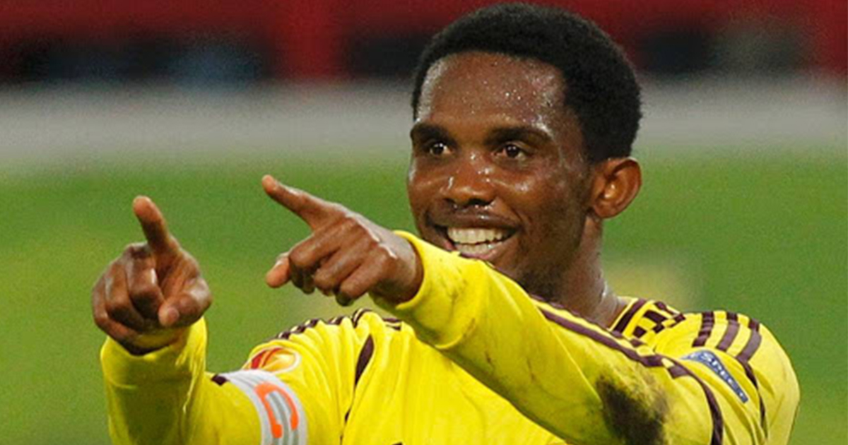 Samuel Eto'o once gave new flat to staff member in  need when playing for bizarre Anzhi team