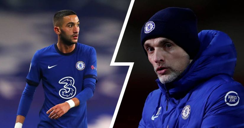 Bizzare report claims Ziyech wants 'to leave Chelsea' due to Tuchel