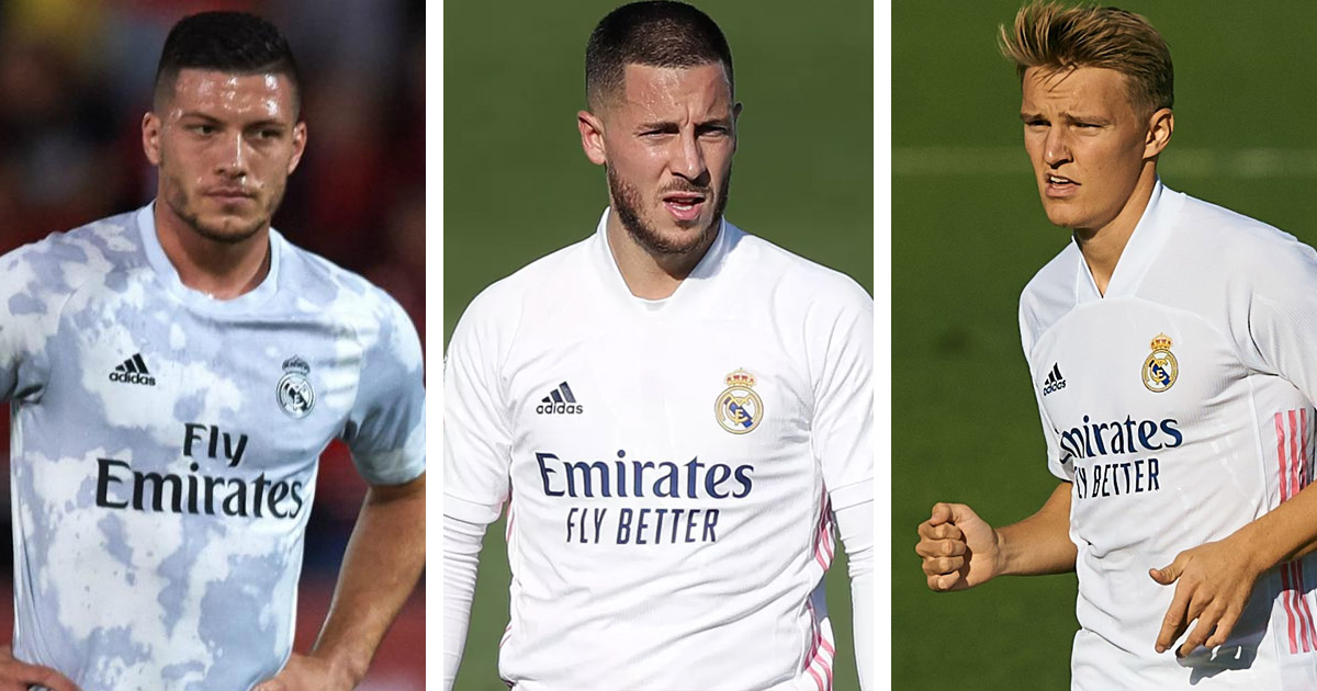 Hazard, Mariano, Odegaard and Jovic to all miss upcoming Bilbao clash