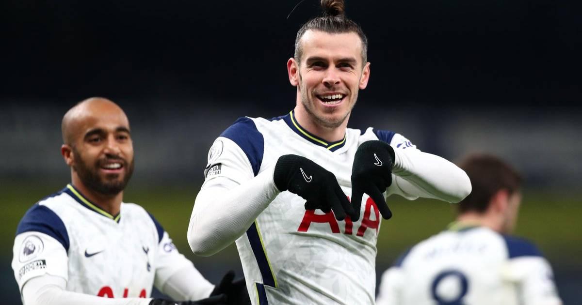 Gareth Bale se mantiene en racha con un doblete con el Tottenham
