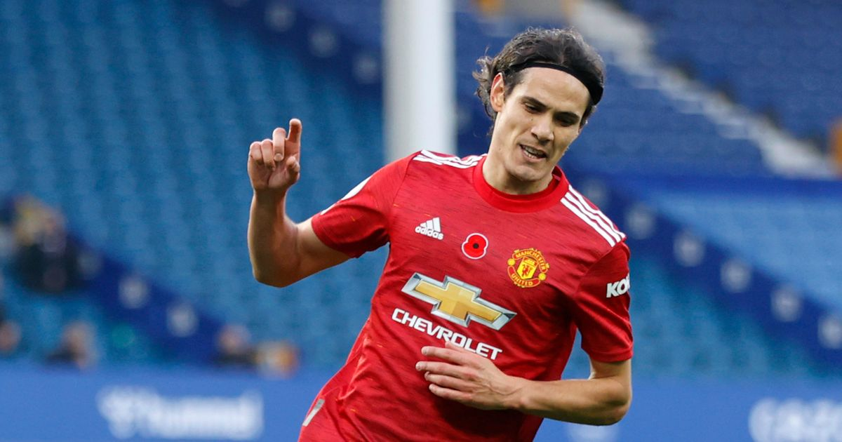 Cavani becomes oldest player to score first PL goal for Man United since Zlatan Ibrahimovic