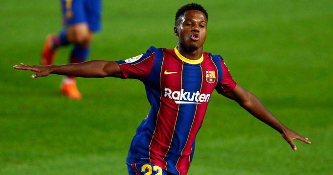 Le jeune joueur qui fête son anniversaire aujourd'hui, Ansu Fati en tête de la liste des jeunes les plus précieux du monde