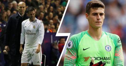 Kepa: 'En España aún no han visto al mejor Hazard'