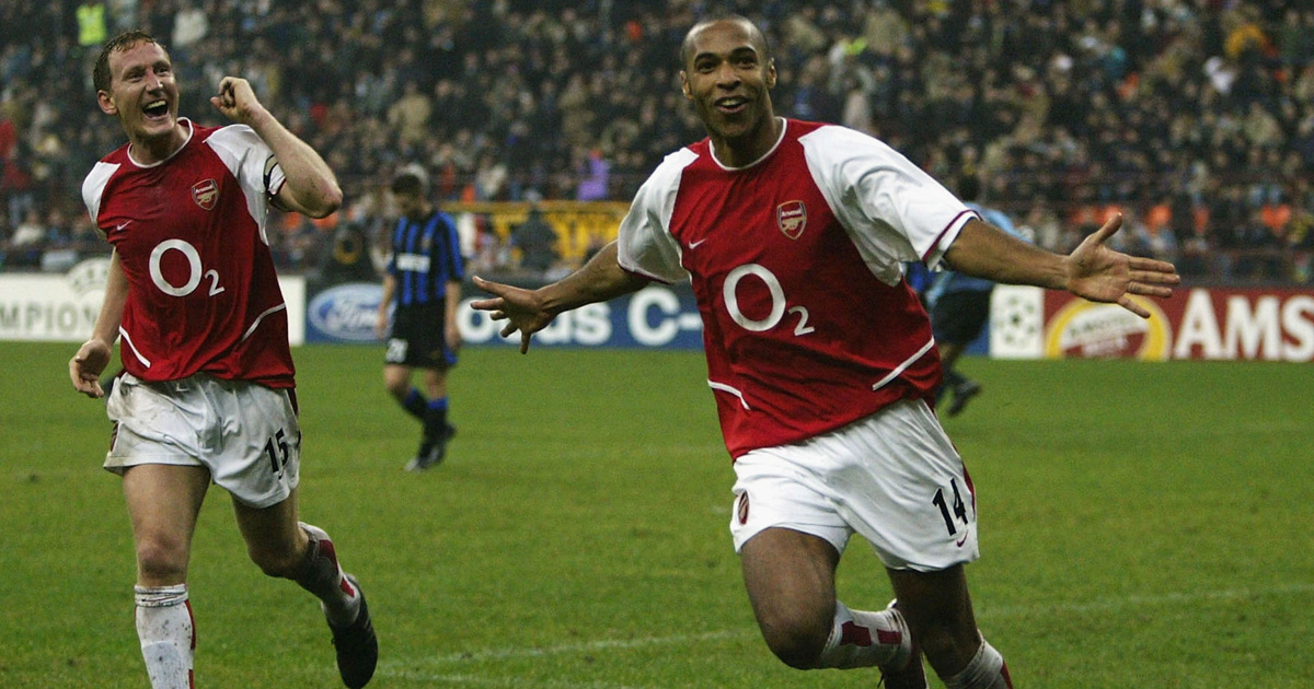 Thierry Henry sweeps Inter aside at San Siro OTD in 2003 (video)