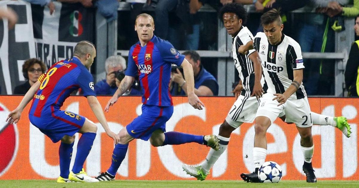 Diatriba social fra Juventus e Barcellona: sfida a colpi di tweet e gol del passato
