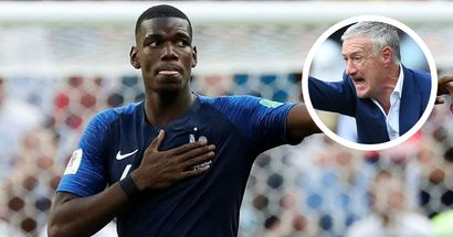'He is not at his best': France boss Didier Deschamps wants Paul Pogba to play regularly for Man United