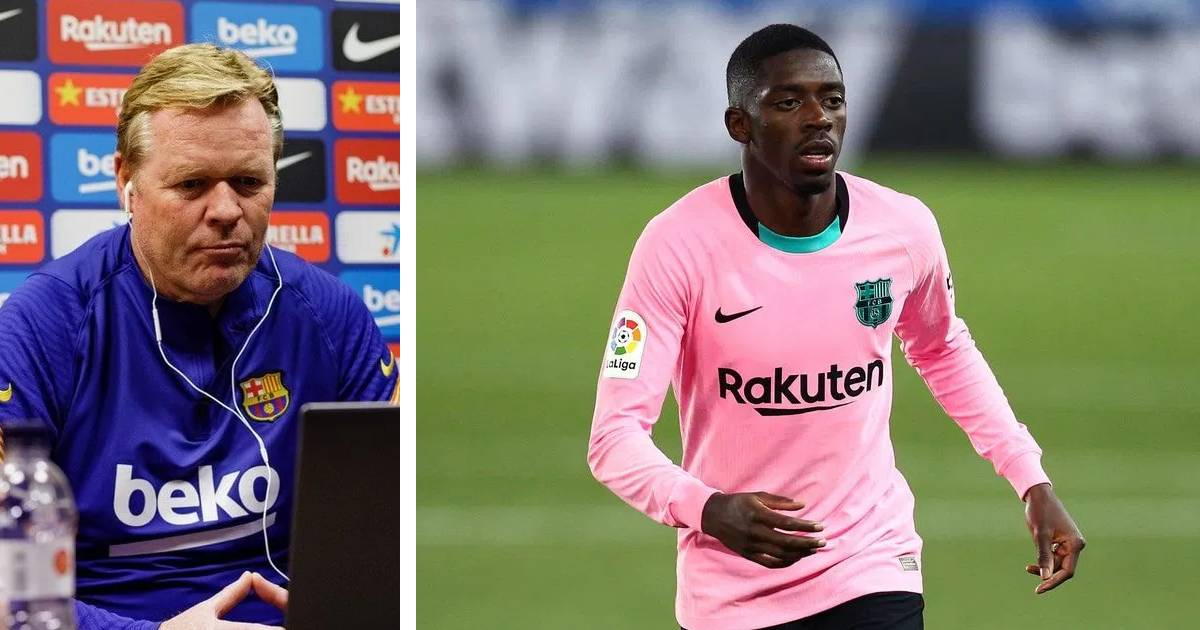 'His quality cannot be doubted': Barcelona Koeman overjoyed with Dembele performance
