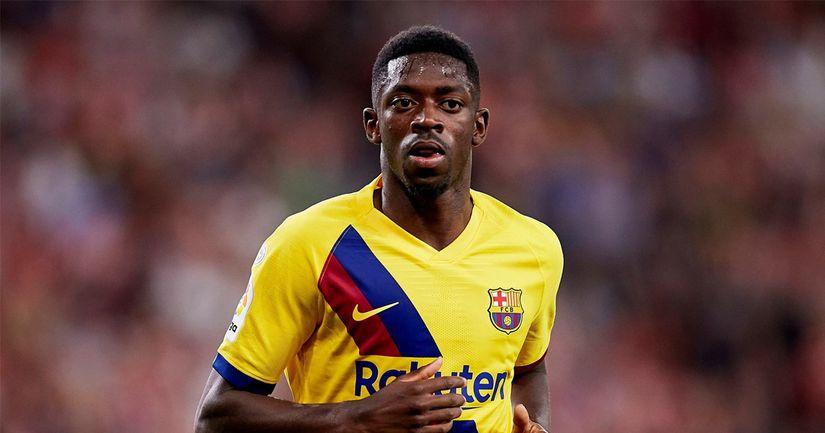 Барселона продаст Дембеле этим летом, если он не продлится в ближайшие недели: спорт - логотип