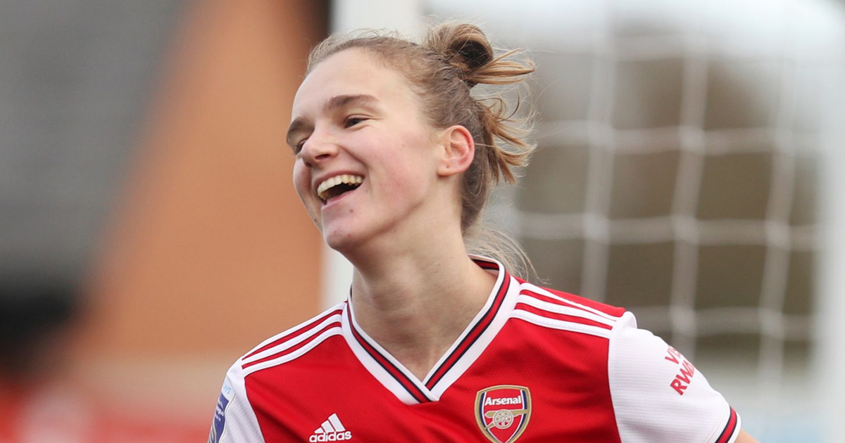 Arsenal Vivianne Miedema named 2nd best female footballer in the World for 2020