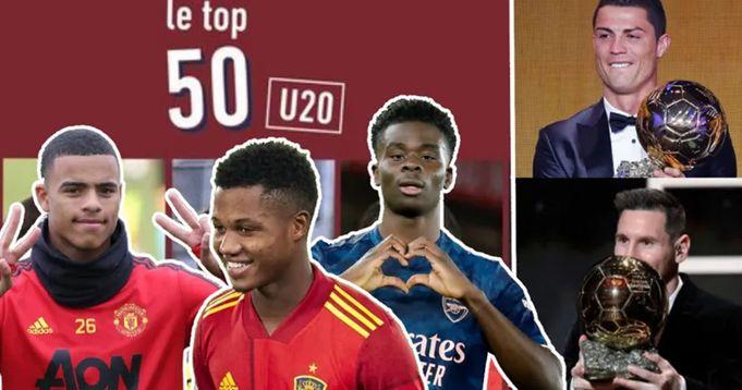 L'Equipe ha nominato i 10 migliori giocatori under 20 - sono il futuro del calcio  - logo