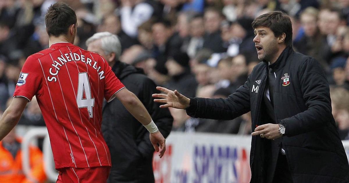 """""""C'est le meilleur coach que je n'aie jamais eu, tout simplement"""": Schneiderlin, ancien joueur de Pochettino à Southampton"""