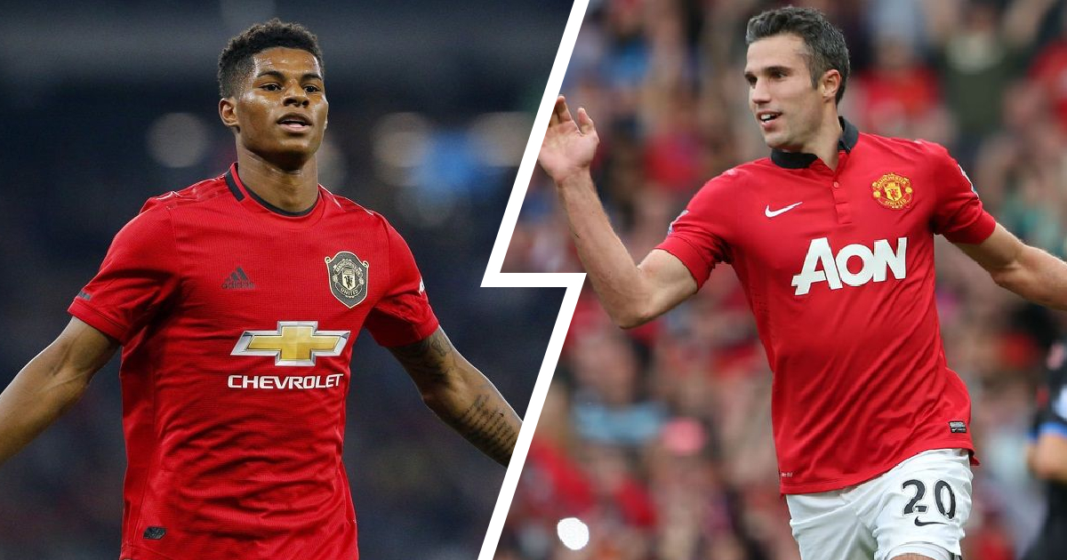 6 years later: Marcus Rashford scores first CL hat-trick for United since Robin van Persie