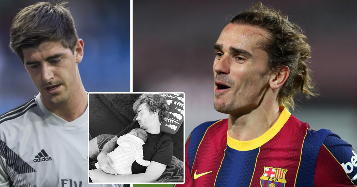 First Clasico goal to come? Griezmann always scores in the next game after child birth