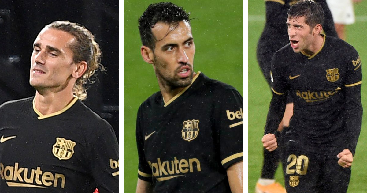 Barca reportedly in negotiations to extend contracts of Busquets, Griezmann and Sergi Roberto