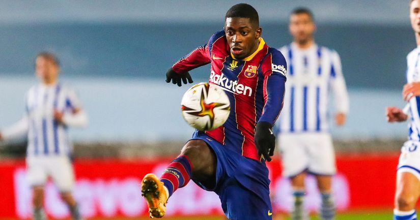 Ter Stegen 9, Dembele 6: rating Barca players in hard-fought Real Sociedad win - logo