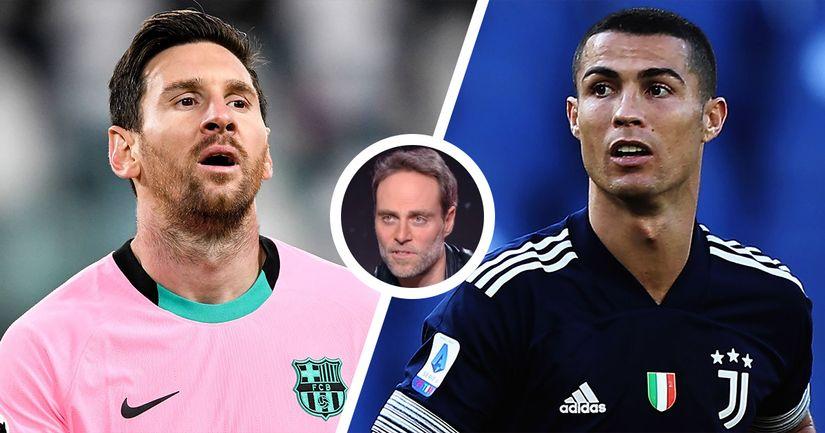 """""""Neymar puissance trois"""": Le journaliste Philippe Sanfourche justifie l'intérêt du PSG pour Leo Messi et Cristiano Ronaldo - logo"""
