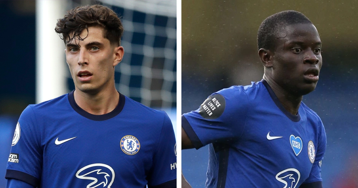 Kai Havertz and N'Golo Kante top list of Chelsea's 6 most expensive players