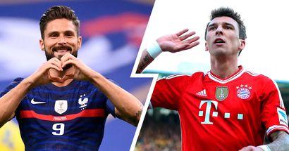 Als Bayern Oliver Giroud verpflichten wollten, aber sich schließlich für Mandzukic entschieden