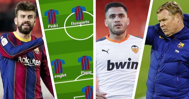 Le XI de Barcelone contre le XI probable de Valence: quelle formation décidera du résultat du match