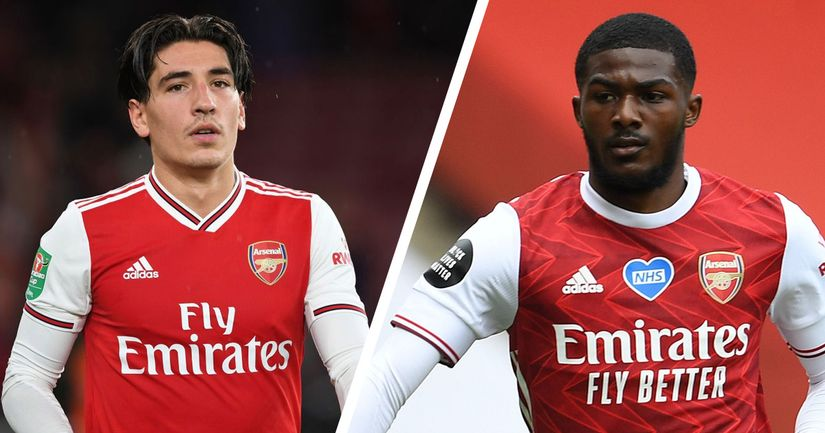 Bellerin vs Niles: analysing who comes out on top in right-back spot battle