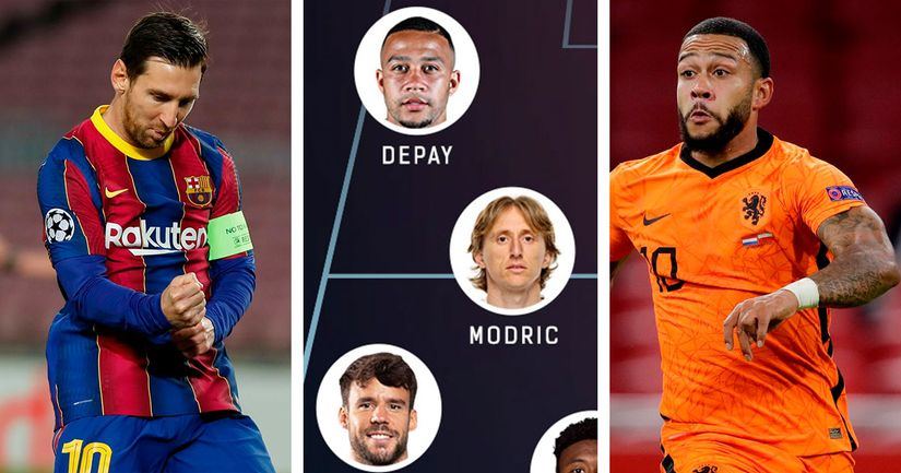 Messi, Depay and 2 other rumoured Barca targets: Starting XI of best free agents in summer 2021 - logo