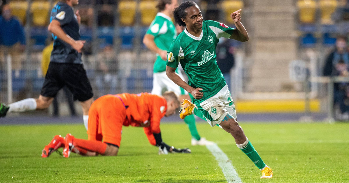 Chong scores impressive goal in official debut for Werder Bremen