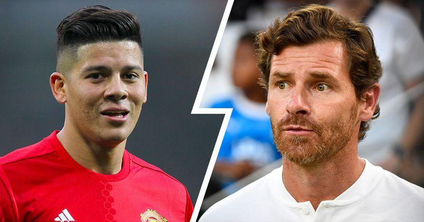 Foot Mercato: André Villas-Boas ne serait pas fan de Marco Rojo, cible de l'OM - logo