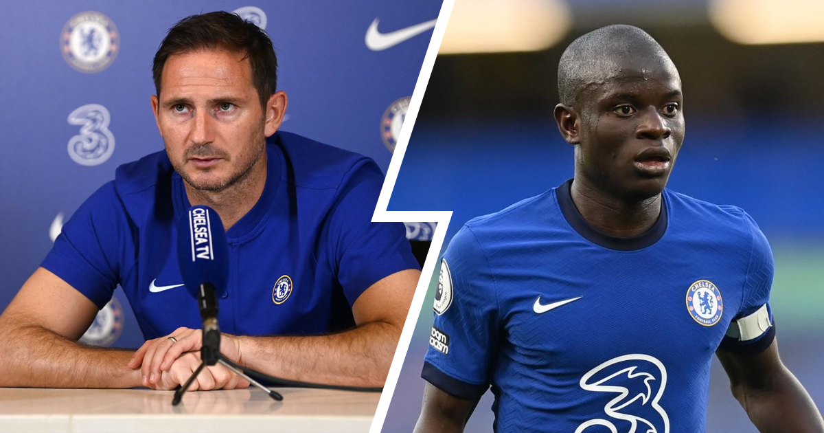 Frank Lampard rules N'Golo Kante out of Leicester game
