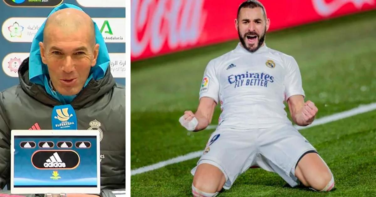 Zidane: 'Si Benzema vuelve a la selección francesa, será una buena noticia'