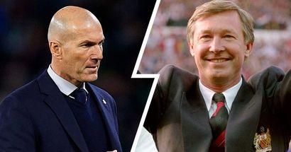 Zidane: 'Nunca voy a ser e Alex Ferguson del Madrid'