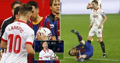 """Rakitic zu Leo Messi: """"Du hast all diese Tore geschossen, aber ich habe eine Trophäe, die du nie haben wirst"""""""
