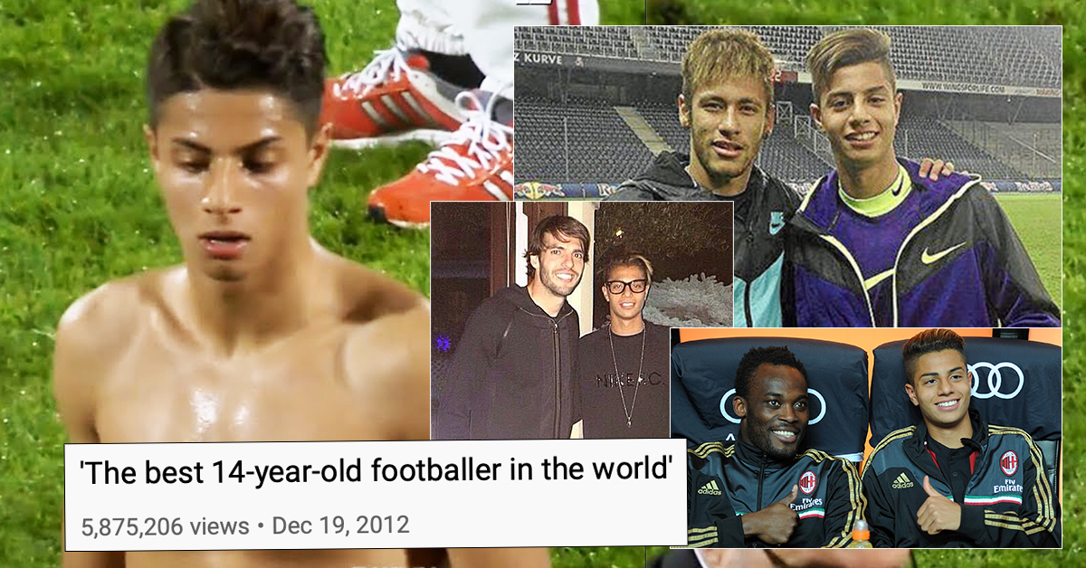 He was named 'the best 14-year-old player in the world' – where is he now?