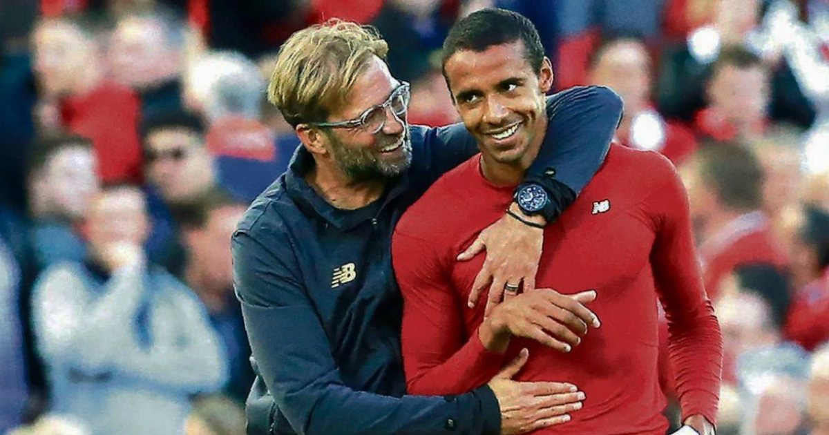 'He's back and hopefully for a long time': Klopp heaps praise on 'incredible' Matip